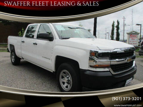 2017 Chevrolet Silverado 1500 for sale at SWAFFER FLEET LEASING & SALES in Memphis TN