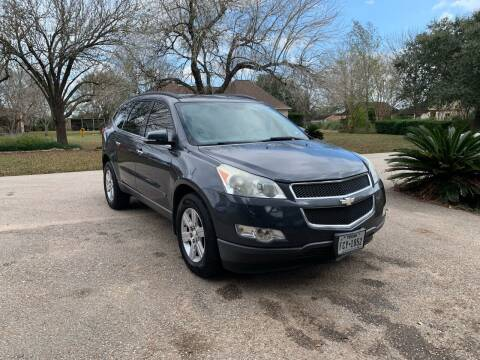 2010 Chevrolet Traverse for sale at CARWIN MOTORS in Katy TX