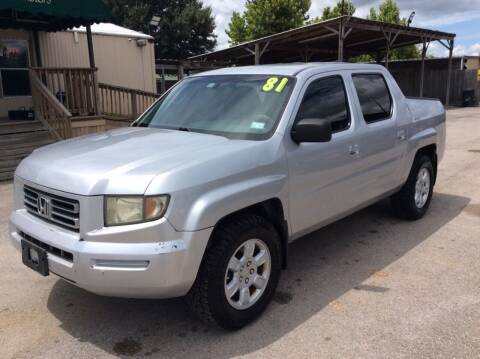 2006 Honda Ridgeline for sale at OASIS PARK & SELL in Spring TX