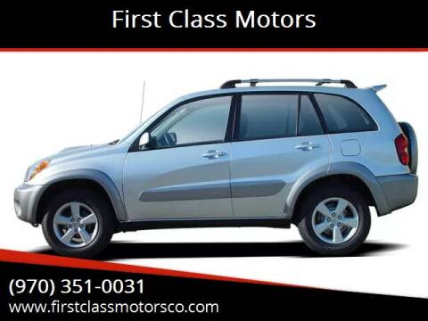 2005 Toyota RAV4 for sale at First Class Motors in Greeley CO