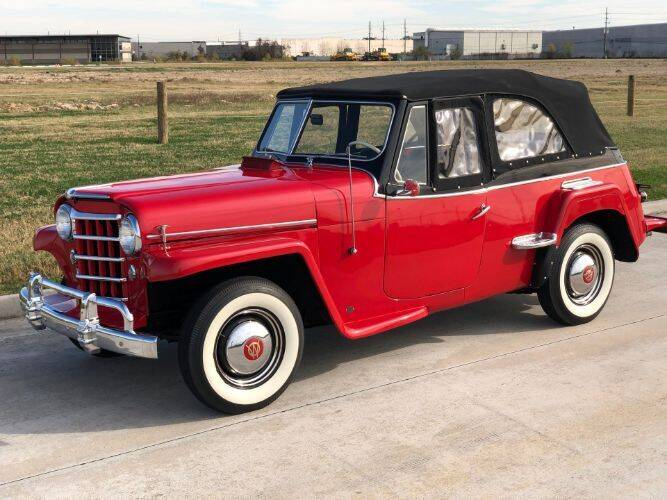 1951 Willys Jeepster for sale in Hobart, IN