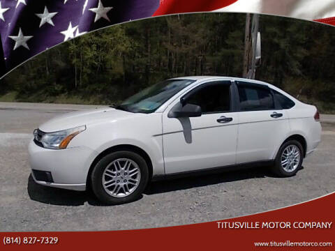 2010 Ford Focus for sale at Titusville Motor Company in Titusville PA
