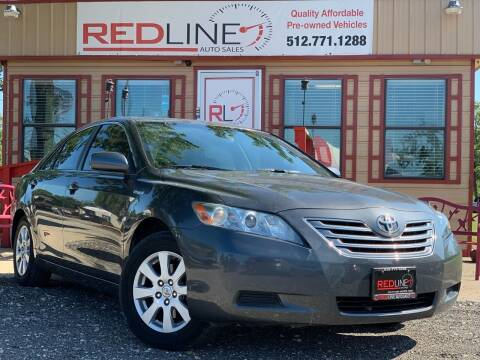 2007 Toyota Camry Hybrid for sale at REDLINE AUTO SALES LLC in Cedar Creek TX