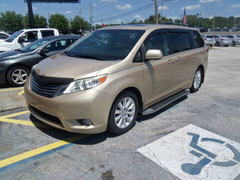 2011 Toyota Sienna for sale at ORANGE PARK AUTO in Jacksonville FL