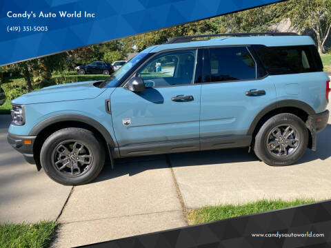 2021 Ford Bronco Sport for sale at Candy's Auto World Inc in Toledo OH