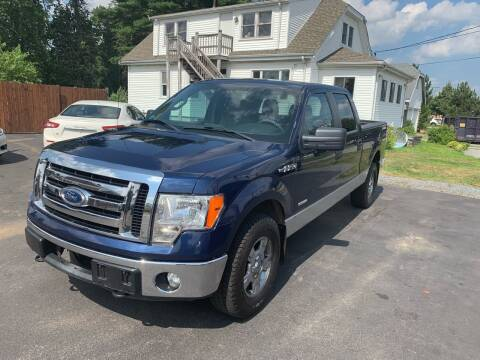 2011 Ford F-150 for sale at Lux Car Sales in South Easton MA