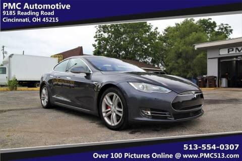 2014 Tesla Model S for sale at PMC Automotive in Cincinnati OH