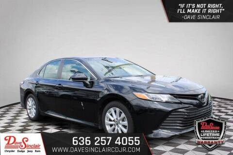 2018 Toyota Camry for sale at Dave Sinclair Chrysler Dodge Jeep Ram in Pacific MO
