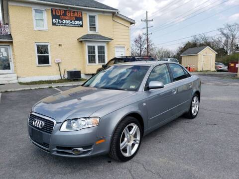 2007 Audi A4 for sale at Top Gear Motors in Winchester VA