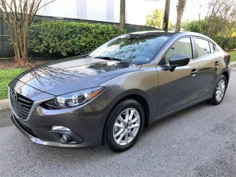 2015 Mazda MAZDA3 for sale at DENMARK AUTO BROKERS in Riviera Beach FL