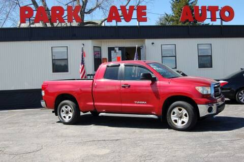 2011 Toyota Tundra for sale at Park Ave Auto Inc. in Worcester MA