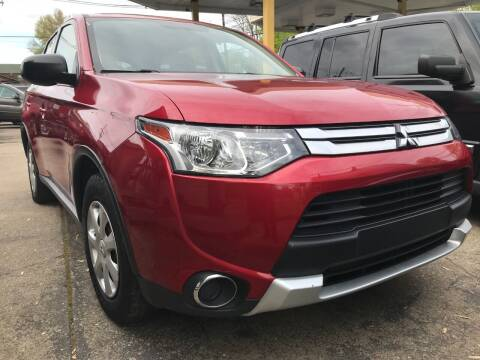 2015 Mitsubishi Outlander for sale at King Louis Auto Sales in Louisville KY