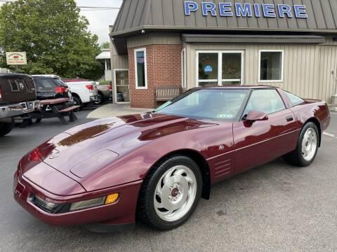 1993 Chevrolet Corvette for sale at Premiere Auto Sales in Washington PA