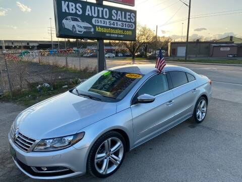 2013 Volkswagen CC for sale at KBS Auto Sales in Cincinnati OH