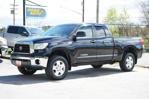 2007 Toyota Tundra for sale at Dubes Auto Sales in Lewiston ME