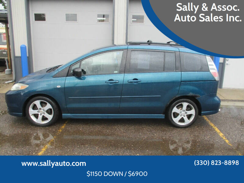 2006 Mazda MAZDA5 for sale at Sally & Assoc. Auto Sales Inc. in Alliance OH