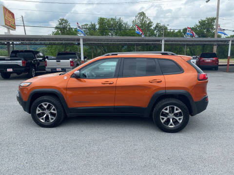 2015 Jeep Cherokee for sale at Lewis Used Cars in Elizabethton TN