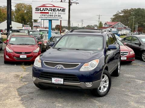 2009 Hyundai Veracruz for sale at Supreme Auto Sales in Chesapeake VA