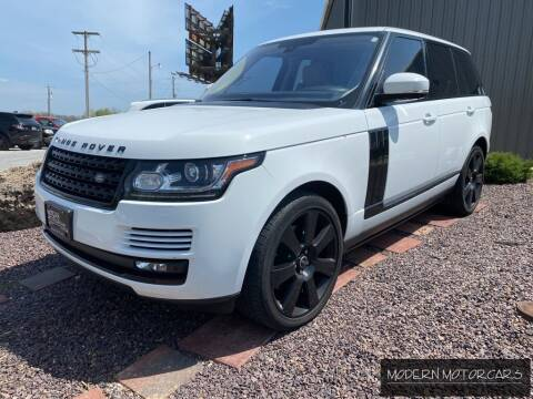2016 Land Rover Range Rover for sale at Modern Motorcars in Nixa MO