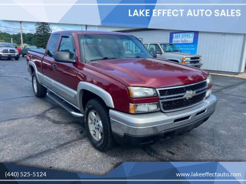 2007 Chevrolet Silverado 1500 Classic for sale at Lake Effect Auto Sales in Chardon OH