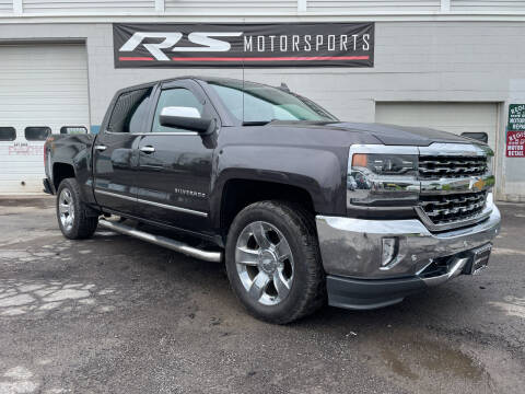 2016 Chevrolet Silverado 1500 for sale at RS Motorsports, Inc. in Canandaigua NY