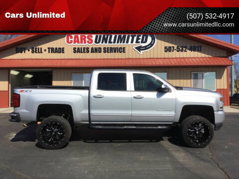 2018 Chevrolet Silverado 1500 for sale at Cars Unlimited in Marshall MN