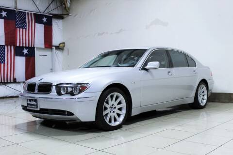 2005 BMW 7 Series for sale at ROADSTERS AUTO in Houston TX