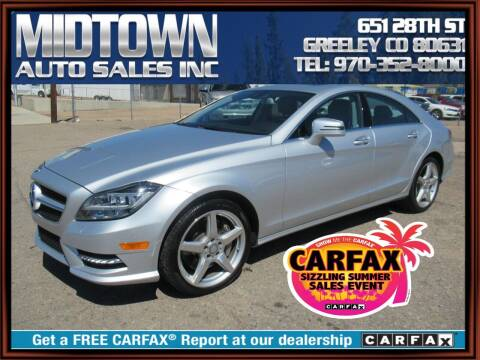 2014 Mercedes-Benz CLS for sale at MIDTOWN AUTO SALES INC in Greeley CO