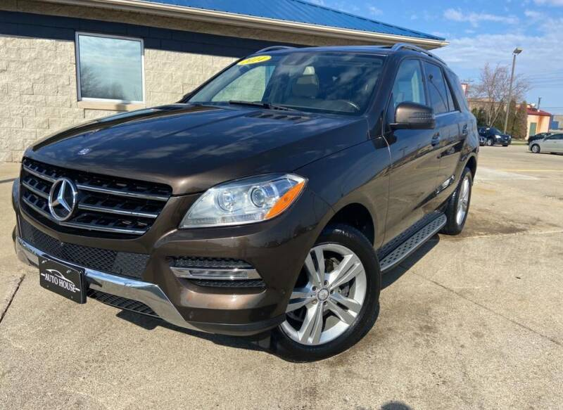 2014 Mercedes-Benz M-Class for sale at Auto House of Bloomington in Bloomington IL