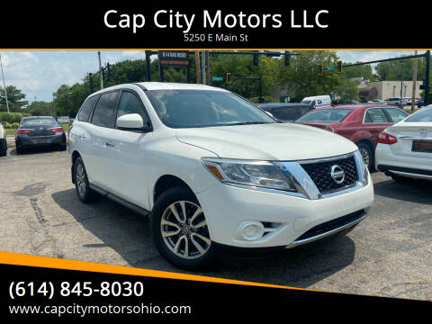 2013 Nissan Pathfinder for sale at Cap City Motors LLC in Columbus OH