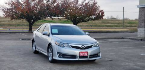 2013 Toyota Camry for sale at America's Auto Financial in Houston TX