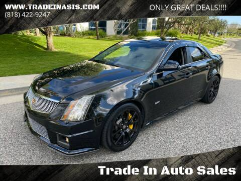 2012 Cadillac CTS-V for sale at Trade In Auto Sales in Van Nuys CA