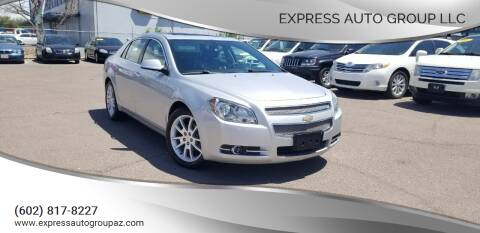 2012 Chevrolet Malibu for sale at EXPRESS AUTO GROUP in Phoenix AZ