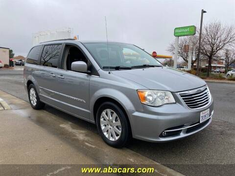 2014 Chrysler Town and Country for sale at About New Auto Sales in Lincoln CA