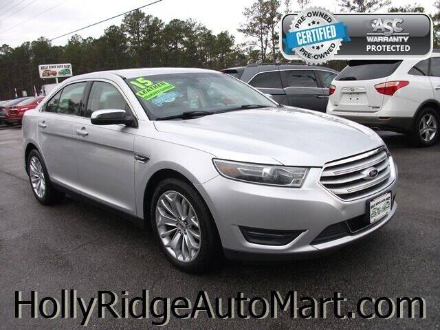 2015 Ford Taurus for sale at Holly Ridge Auto Mart in Holly Ridge NC