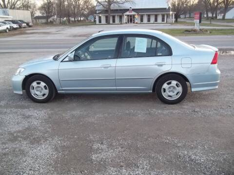 2005 Honda Civic for sale at BRETT SPAULDING SALES in Onawa IA