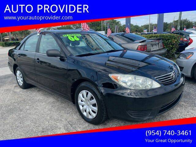 2006 Toyota Camry for sale at AUTO PROVIDER in Fort Lauderdale FL