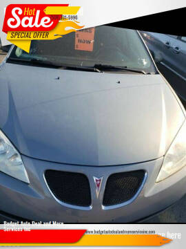 2009 Pontiac G6 for sale at Budget Auto Deal and More Services Inc in Worcester MA