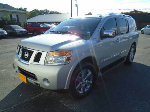 2012 Nissan Armada for sale at River City Auto Sales in Cottage Hills IL