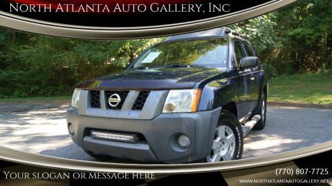 2007 Nissan Xterra for sale at North Atlanta Auto Gallery, Inc in Alpharetta GA
