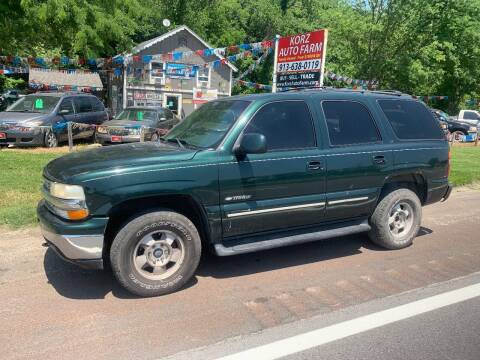 2001 Chevrolet Tahoe for sale at Korz Auto Farm in Kansas City KS