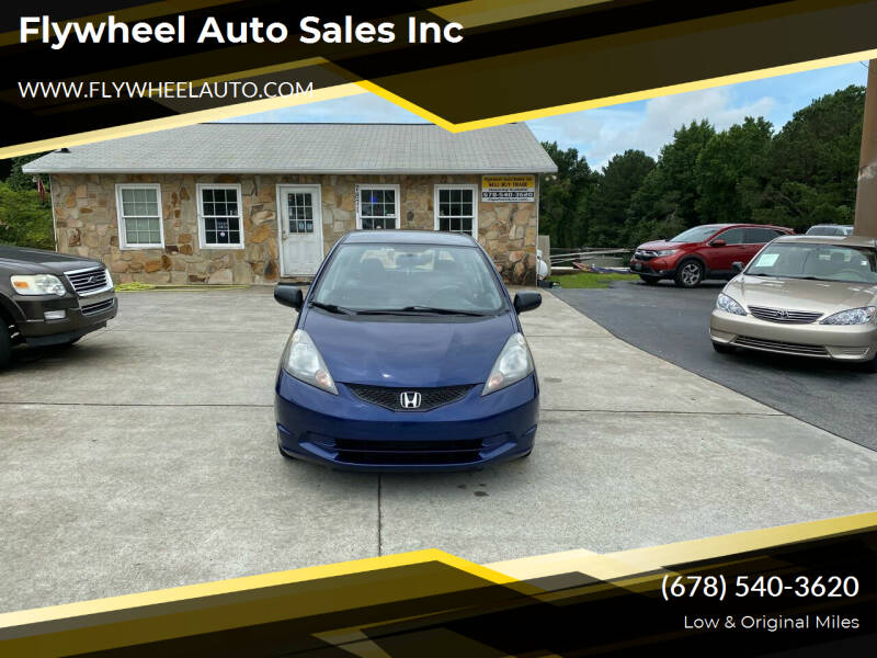 2009 Honda Fit for sale at Flywheel Auto Sales Inc in Woodstock GA