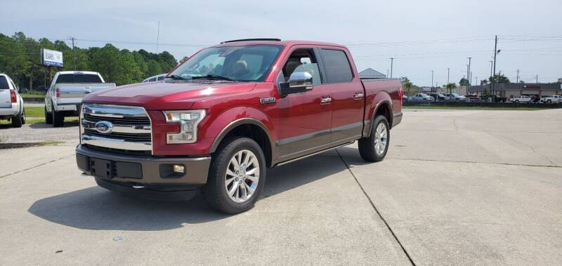 2015 Ford F-150 for sale at WHOLESALE AUTO GROUP in Mobile AL