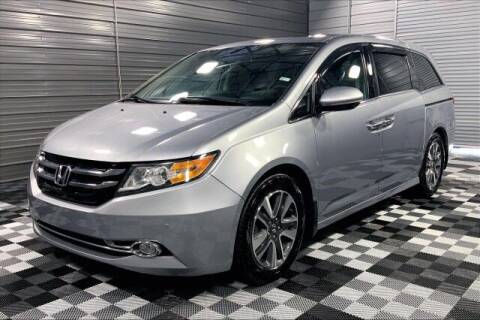 2016 Honda Odyssey for sale at TRUST AUTO in Sykesville MD