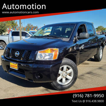 2011 Nissan Titan for sale at Automotion in Roseville CA