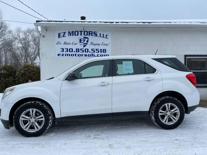 2013 Chevrolet Equinox for sale at EZ Motors in Deerfield OH