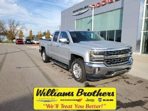 2018 Chevrolet Silverado 1500 for sale at Williams Brothers - Pre-Owned Monroe in Monroe MI