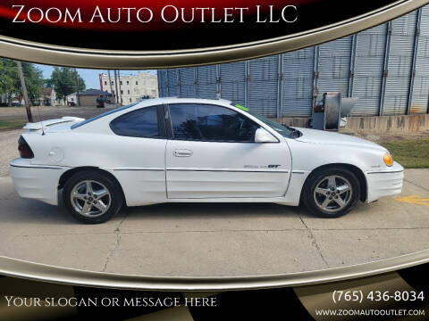 2001 Pontiac Grand Am for sale at Zoom Auto Outlet LLC in Thorntown IN