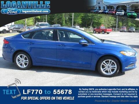 2018 Ford Fusion for sale at Loganville Quick Lane and Tire Center in Loganville GA