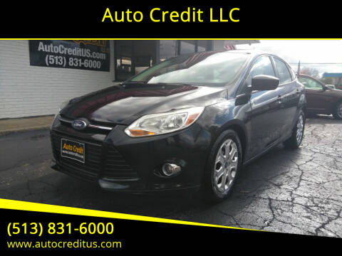 2012 Ford Focus for sale at Auto Credit LLC in Milford OH